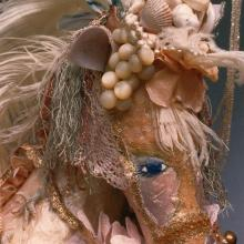 1986: Dimensional Work - Etheric the Sea Unicorn from The Animal Court of Enchantment- Gifted by the Artist