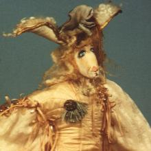 1986: Dimensional Work - The French Hare from The Medieval Fantasy Collection - Private Collection