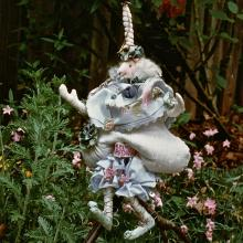 1989-1995: Dimensional Work - Sinclair the Unicorn from The Animal Court of Enchantment Collection - Private Collection